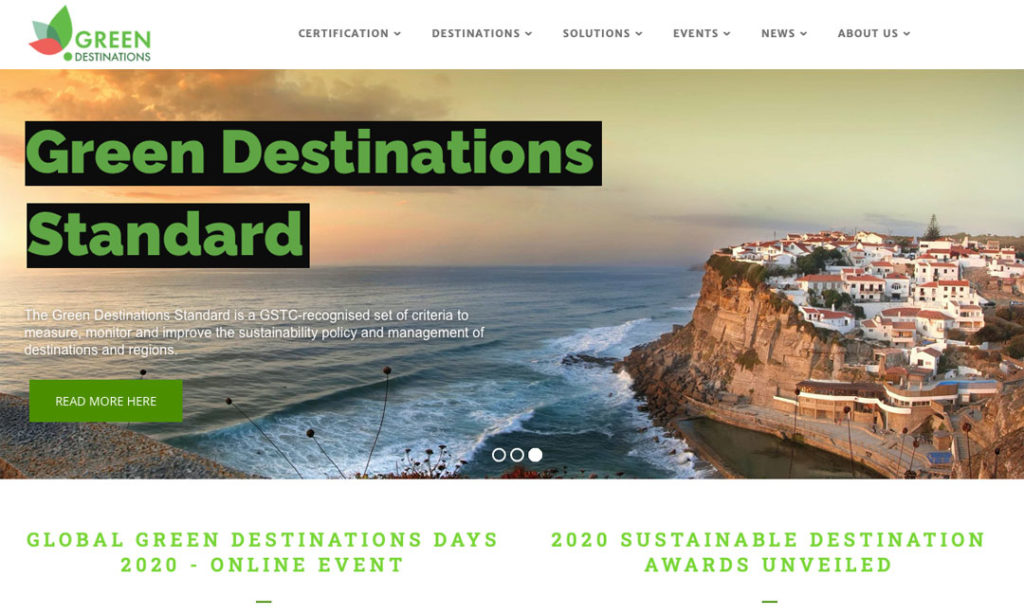trustworthy certification of destinations