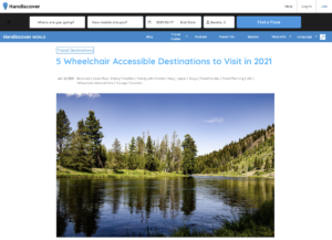 accessible tourism destination